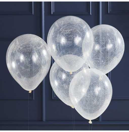 Pop The Bubbly-Balloons - Angel Hair - Silver Watertrade-Hem