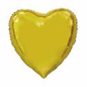 Giant Heart folie ballong Guld 92 cm