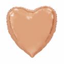 Giant Heart folie ballong Rose 92 cm