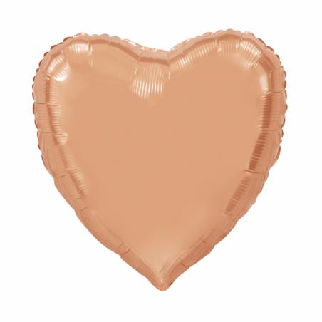 Giant Heart folie ballong Rose 92 cm - 104