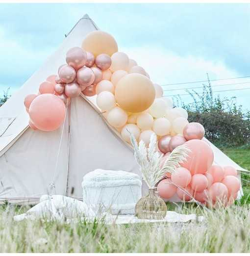 Balloon Arches - Balloon Arch - Large - Rose Watertrade-Hem