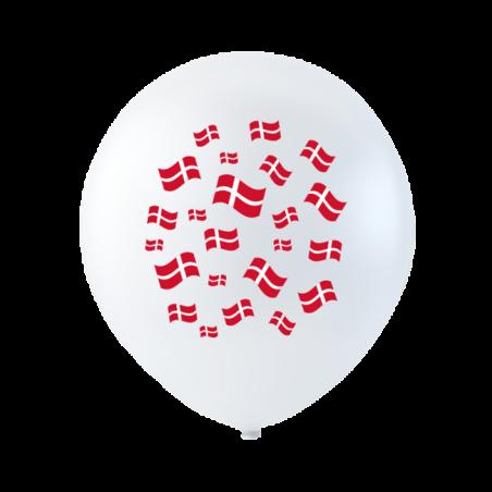 Ballonger med flaggor 10 st. - 193