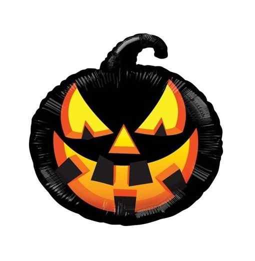 Halloween pumpa 45 cm