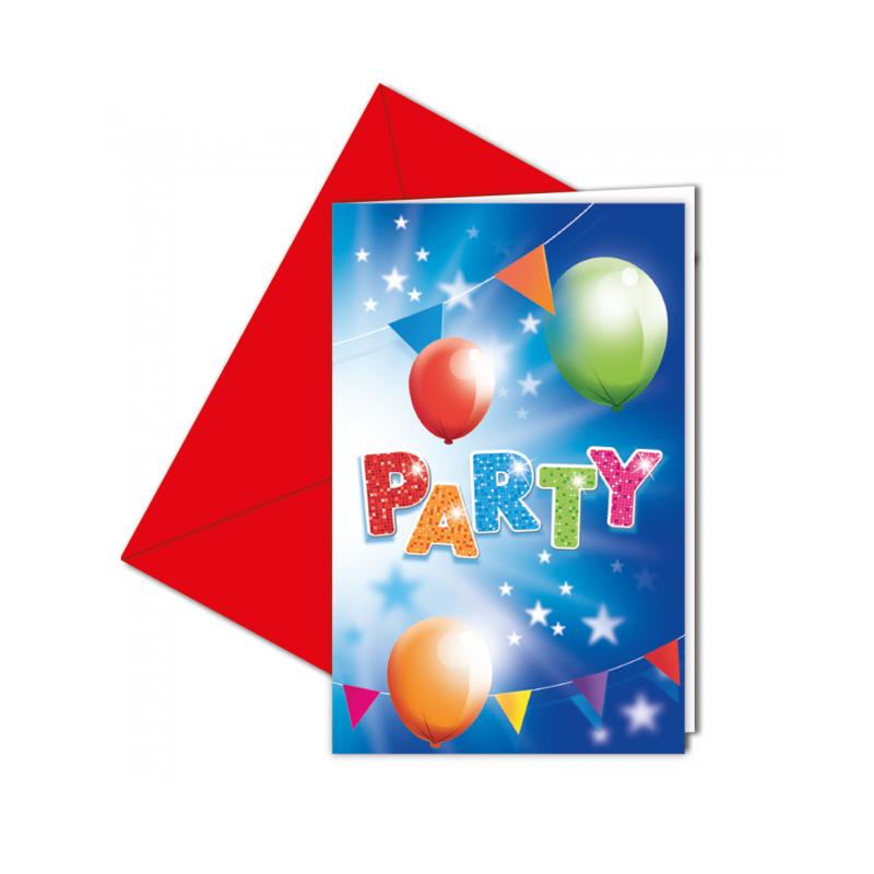 Inbjudningar - fest
