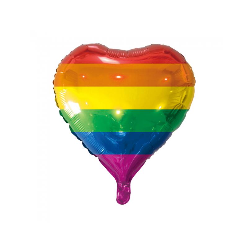 Rainbow folie ballong