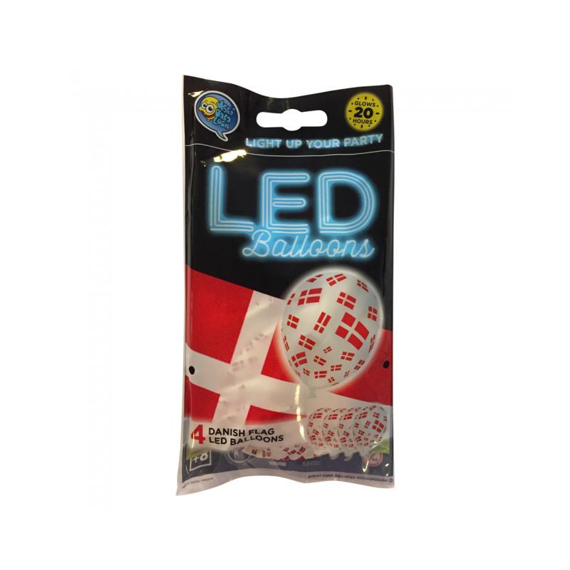 LED-ballonger flagga