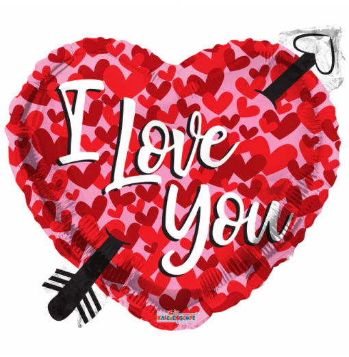 Jag älskar dig folie ballong - hjärtan Hjärtat Ballonger