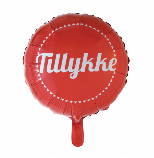 Grattis folie ballong Födelsedag