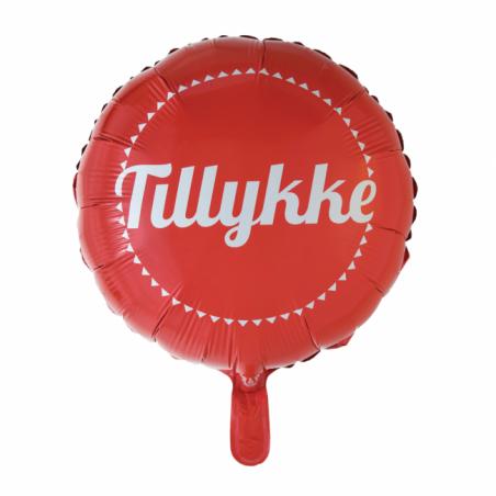 Grattis folie ballong - 548
