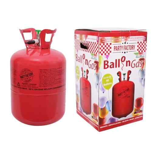 Helium ballongas för 50 ballonger - 410 liter Heliumtub