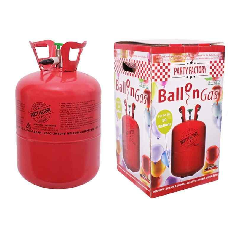 Helium ballongas för 50 ballonger - 410 liter
