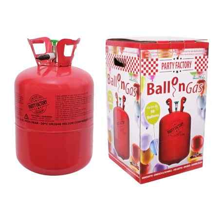 Helium ballongas för 50 ballonger - 410 liter - 563