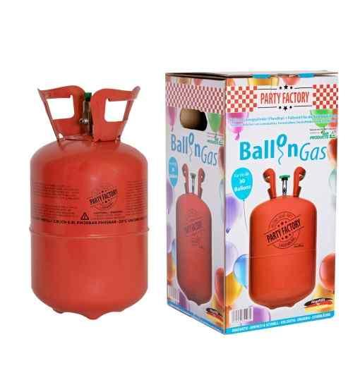 Helium ballongas för 30 ballonger - 210 liter Heliumtub