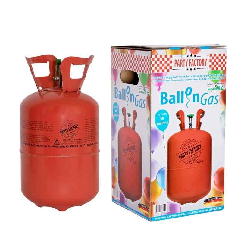 Helium ballongas för 30 ballonger - 210 liter