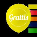 """""""Grattis"""" ballonger 10 '' 10 st Födelsedag"""