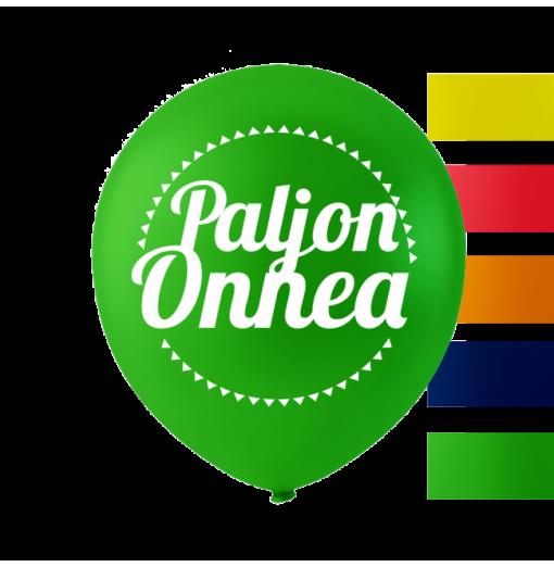 """""""Paljon Onnea"""" ballonger 10 '' 10 st Födelsedag"""