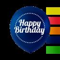 """""""Grattis på födelsedagen"""" ballonger 10 '' 10 st Födelsedag"""