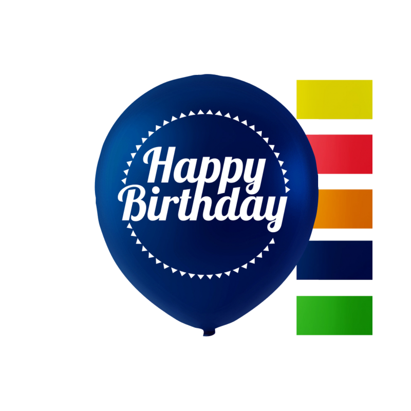 """""""Grattis på födelsedagen"""" ballonger 10 '' 10 st"""
