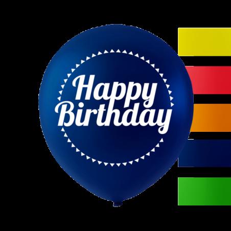 """""""Grattis på födelsedagen"""" ballonger 10 '' 10 st - 659"""