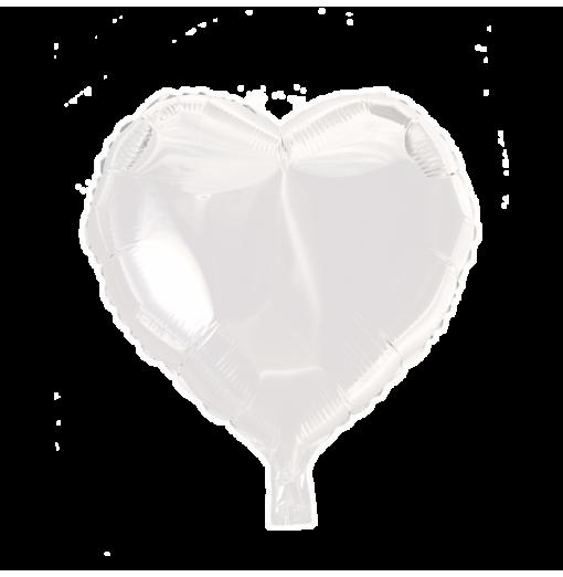 """Hjärta ballong i folie 18 """" Hjärtat Ballonger"""