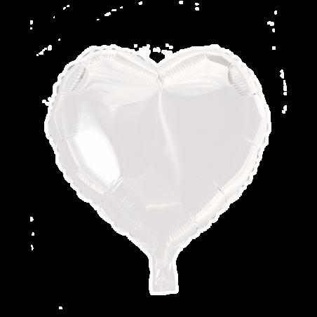 """Hjärta ballong i folie 18 """" - 667"""