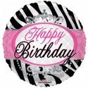 """Grattis på födelsedagen 18 """"zebrabänder Födelsedag"""