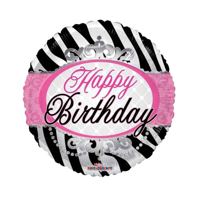 """Grattis på födelsedagen 18 """"zebrabänder"""