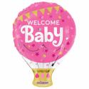 """Välkommen Baby 18 """" Folie ballonger"""