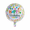 """Grattis på 18 """"prickar Födelsedag"""