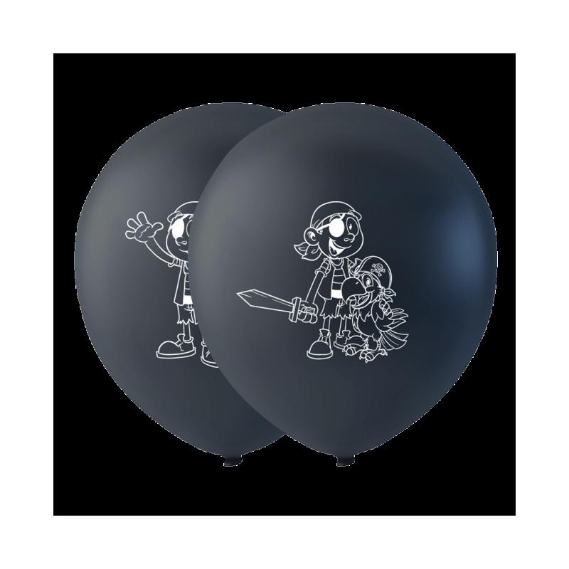 "Piratballonger 10 """