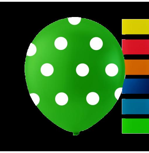 """Prickar 10 """" Ballonger med tryck"""