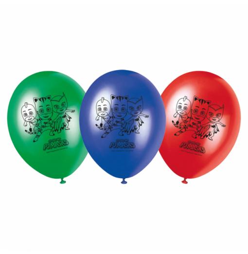 "Pyjama Heroes Balloons 11 "" Ballonger med tryck"