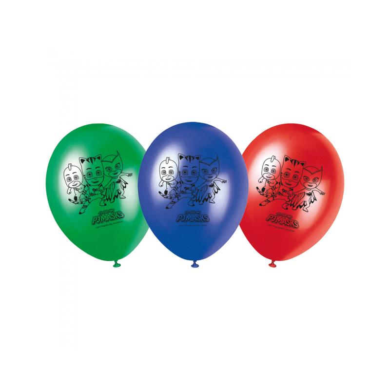 "Pyjama Heroes Balloons 11 """