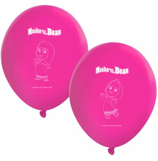 "Masha and the Bear Balloons 11 "" Ballonger med tryck"