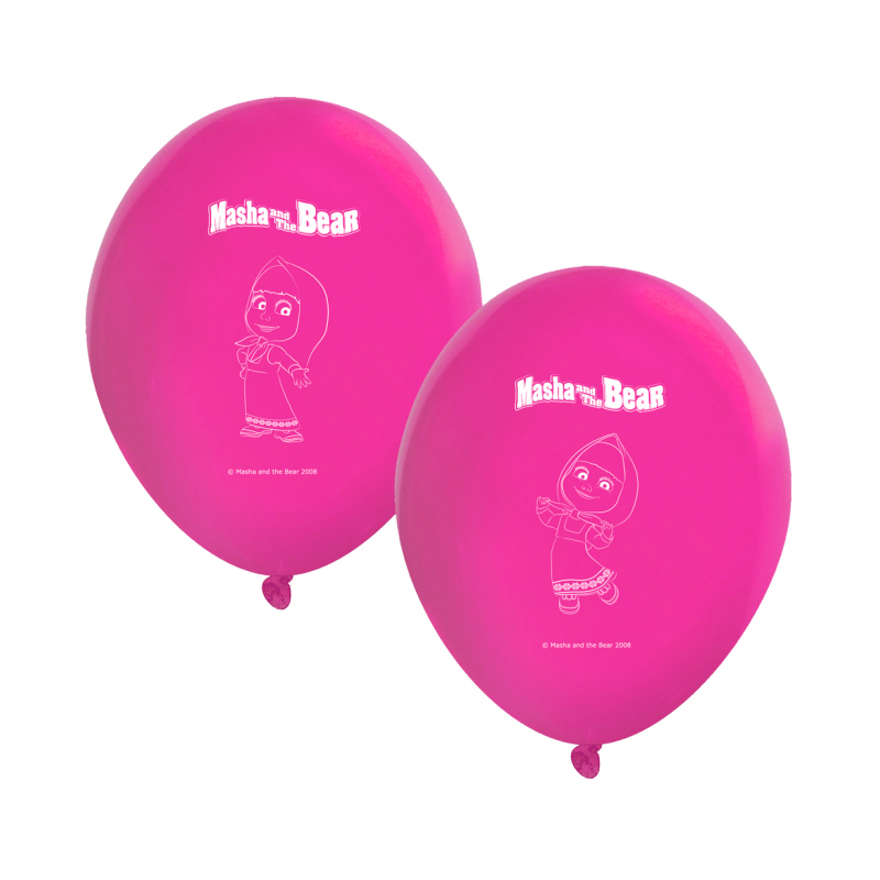 "Masha and the Bear Balloons 11 """