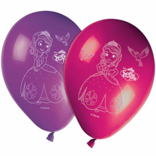 """Sofia den första 11 """" Ballonger med tryck"""