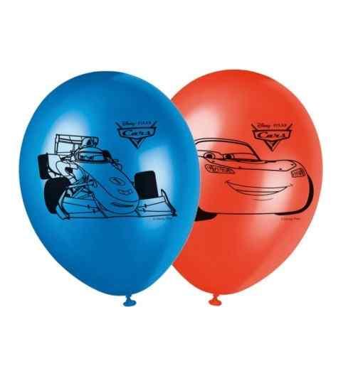 """Bilar ballonger 11 """" Ballonger med tryck"""