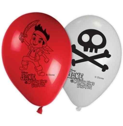 """Jake piratballonger 11 """" Ballonger med tryck"""