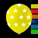 """Stjärnballonger 10 """" Ballonger med tryck"""