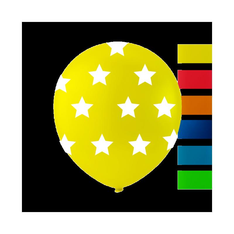 """Stjärnballonger 10 """""""