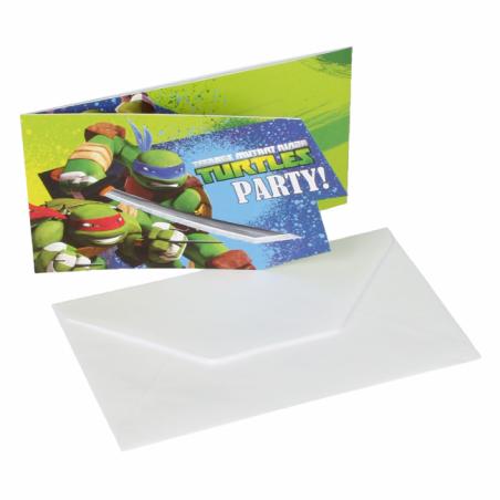 Inbjudningar med Ninja Turtles - 759