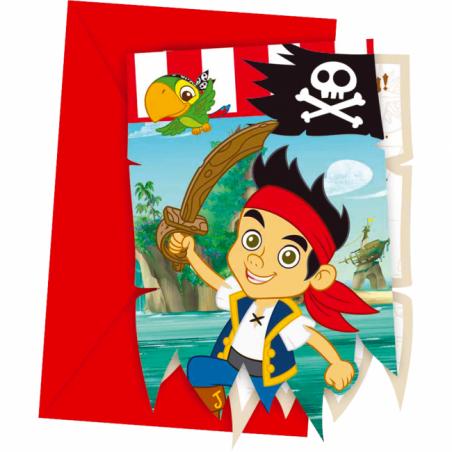 Inbjudningar med Jake och piraterna - 760