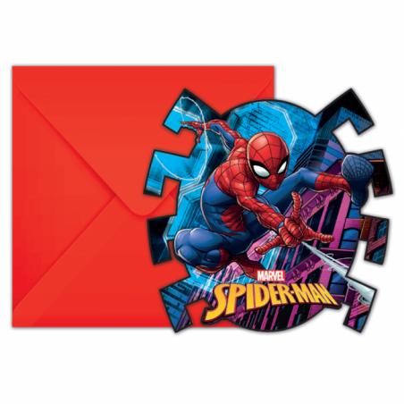 Inbjudningar med Spiderman - 763