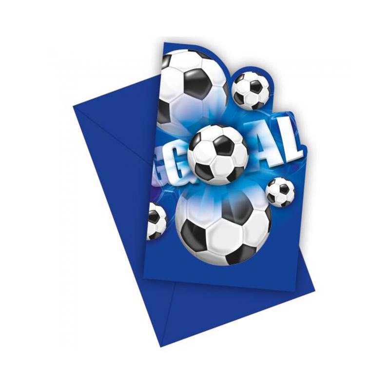 Inbjudningar med fotboll