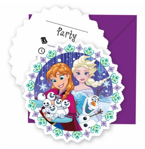 Inbjudningar med Frost Inbjudningar