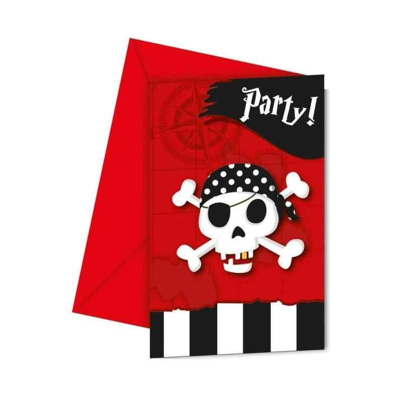 Inbjudningar med pirater
