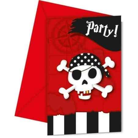 Inbjudningar med pirater - 768