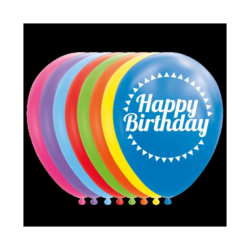 """Grattis på födelsedagen ballonger 12 """""""