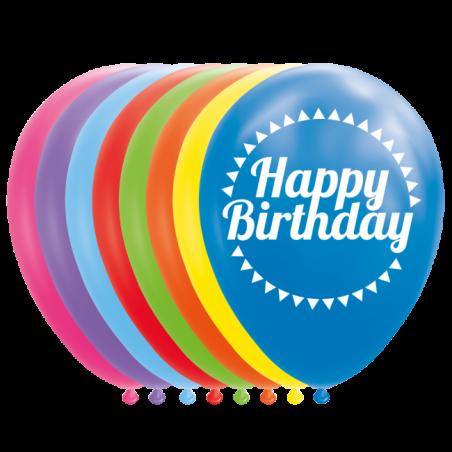"""Grattis på födelsedagen ballonger 12 """" - 772"""