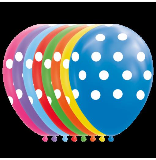 """Prickballonger 12 """" Ballonger med tryck"""